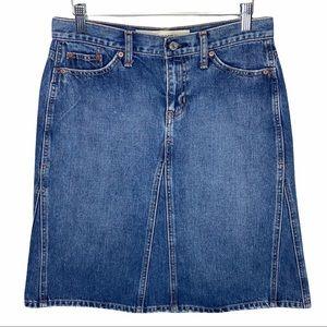 GAP Jeans Denim Skirt size 6